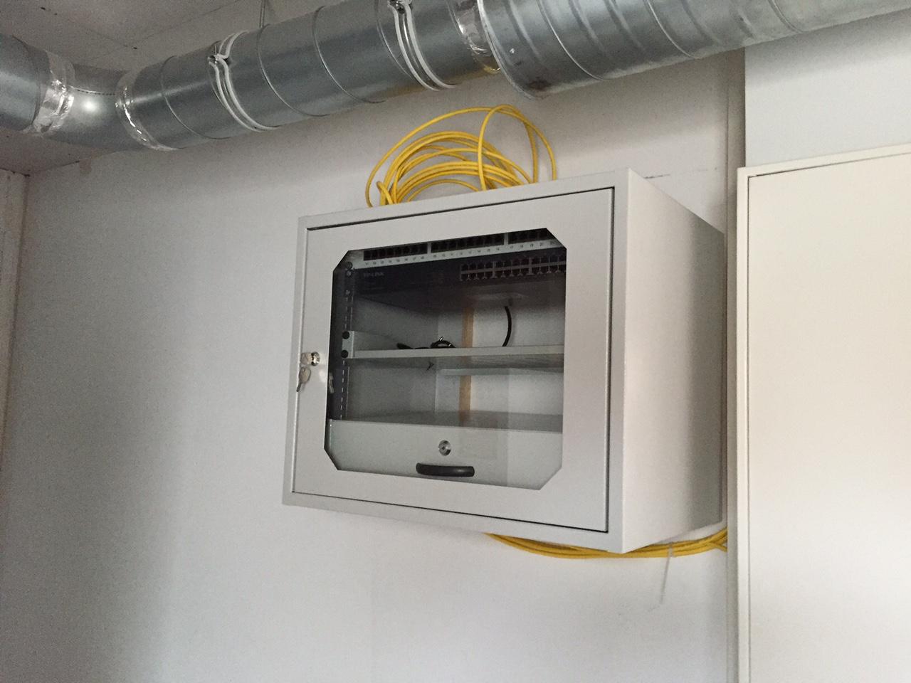 Netzwerkschrank Und Eingangspodest Das Haus 5 0 Von
