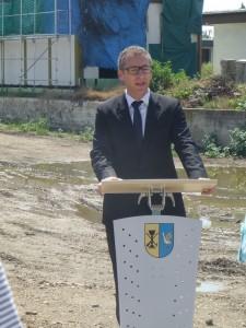 Der Bürgermeistern von Karlsdorf-Neuthard.