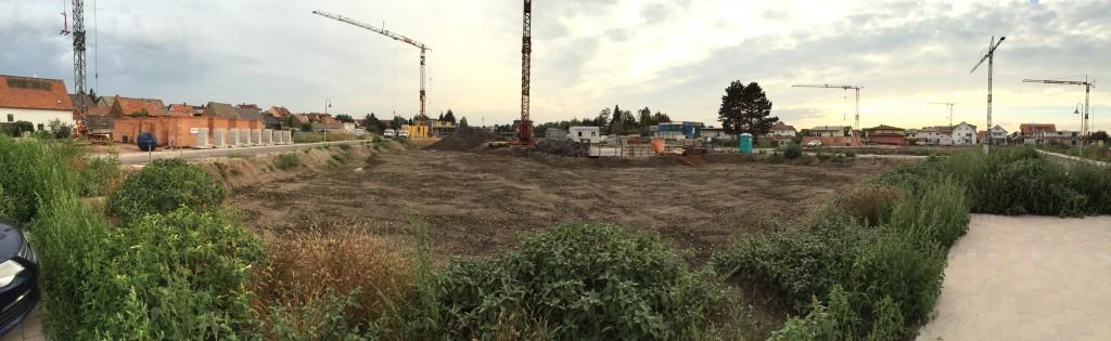 Panorama Grundstück 24.09.2014