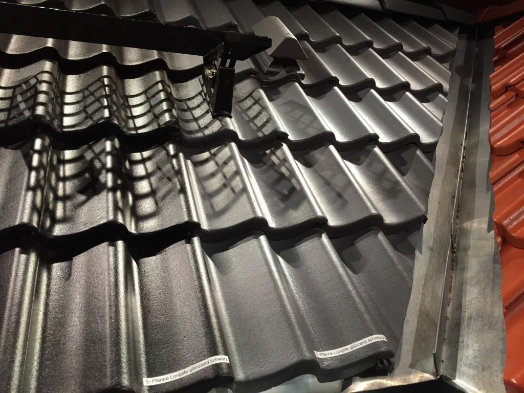 Dachziegel s-Pfanne grau